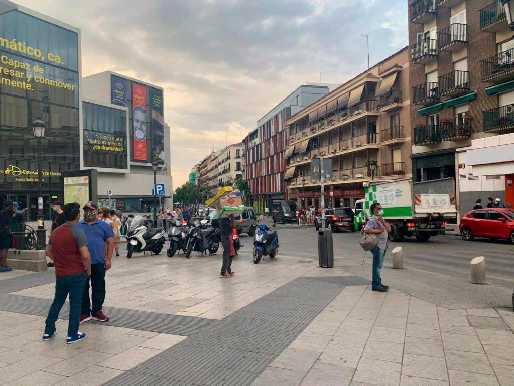 Calle en Lavapies